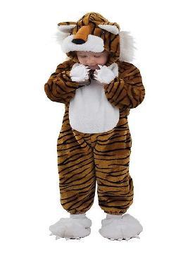 disfraz de tigre feroz bebe