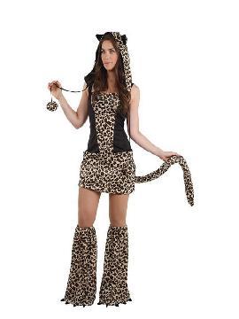 disfraz de tigresa sexy mujer