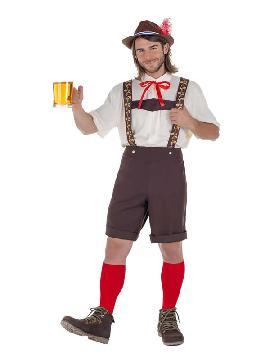 disfraz de tiroles oktoberfest hombre