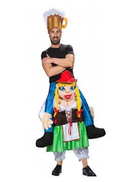 disfraz de tirolesa a hombros hombre
