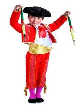 disfraz de torero banderillero niño