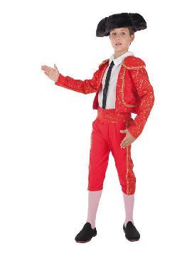 disfraz de torero deluxe para niño