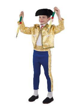 disfraz de torero lujo para niño
