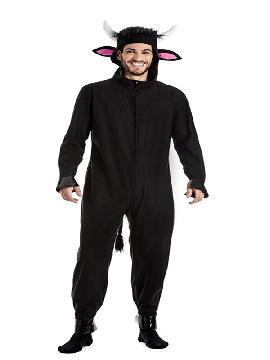 disfraz de toro negro bravo hombre