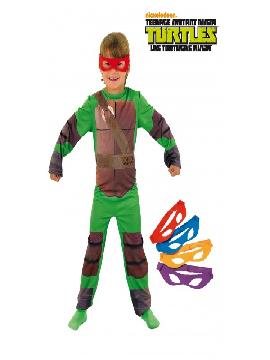 disfraz de tortugas ninja classic para niño
