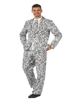 disfraz de traje divertido dinero para hombre