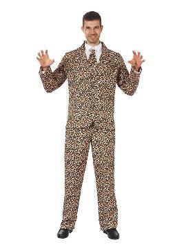 disfraz de traje divertido leopardo para hombre