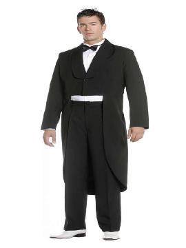 disfraz de trajes de frac unisex adulto