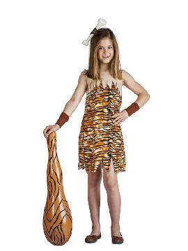 disfraz de troglodita para niña