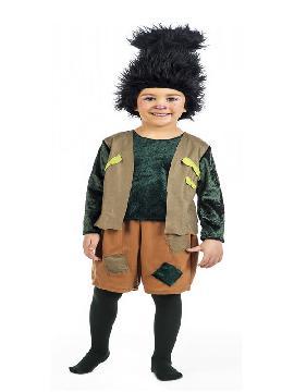 disfraz de troll para niño