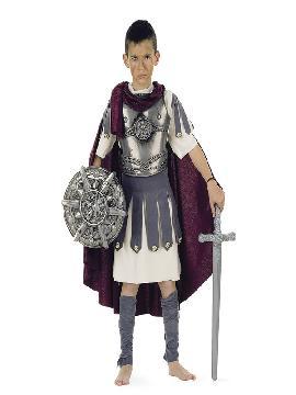 disfraz de troyano deluxe para niño