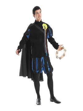 disfraz de tuno deluxe hombre