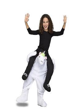 disfraz de unicornio a hombros para infantil