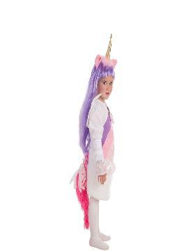 disfraz de unicornio con alas para niña