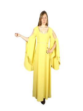 disfraz de urraca medieval para mujer adulto. Te convertirás en una auténtica mujer de la época medieval cuando lleves este vestido de urraca medieval para mujer, representaciones teatrales y mercados medievales. Este disfraz es ideal para tus fiestas temáticas de disfraces epoca y medievales para la edad media adultos