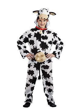disfraz de vaca con cencerro hombre