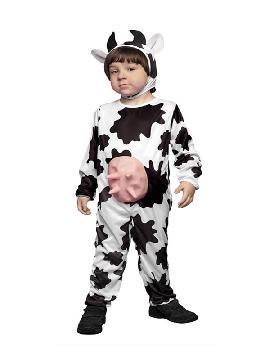 disfraz de vaca con ubres niño