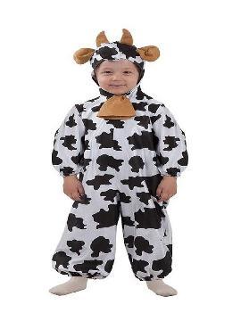 disfraz de vaca lechera bebe