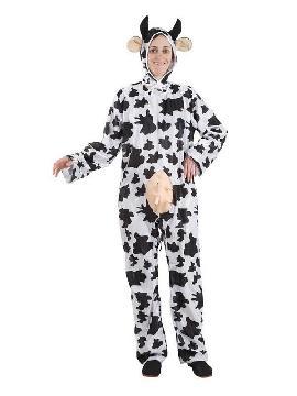 disfraz de vaca lechera mujer