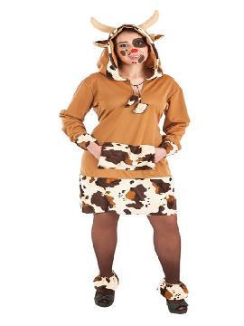 disfraz de vaca mimosa para mujer