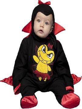 disfraz de vampira barato bebe. Es muy cómodo para vestir a los diminutos de la casa, y que puedan hacer mil travesuras en las fiestas temáticas de las guarderías, en halloween.es ideal para tus fiestas temáticas de disfraces de miedo y vampiros para niñas infantiles.