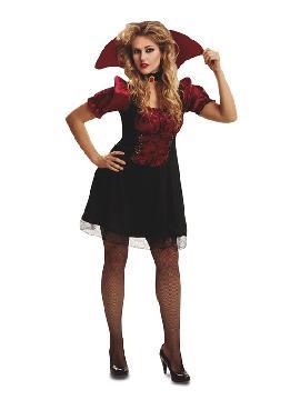 disfraz de vampiresa barato para mujer