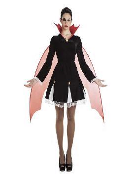 disfraz de vampiresa con alas mujer