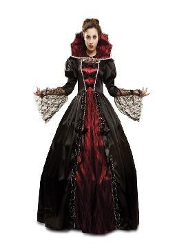 disfraz de vampiresa deluxe para mujer