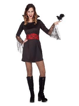 disfraz de vampiresa encaje para mujer