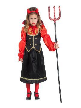 disfraz de vampiresa llamas niña