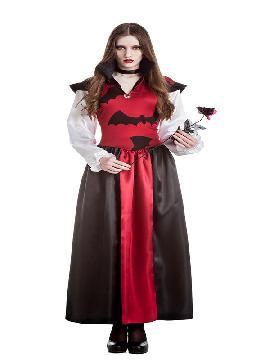 disfraz de vampiresa murcielago mujer