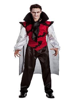 disfraz de vampiro gotico hombre