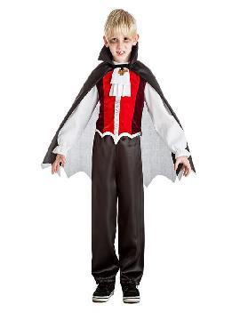 disfraz de vampiro gracioso niño