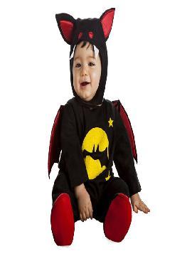 disfraz de vampiro murcielago bebe es muy cómodo para vestir a los diminutos de la casa, y que puedan hacer mil travesuras en las fiestas temáticas de las guarderías y en halloween. Es ideal para tus fiestas temáticas de disfraces de miedo y vampiros infantiles.