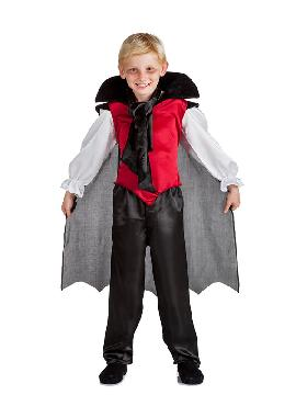 disfraz de vampiro murcielagos niño