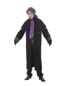 disfraz de vampiro purpura para hombre