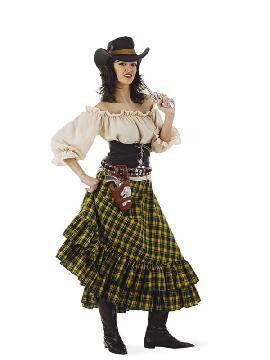 disfraz de vaquera bandida mujer