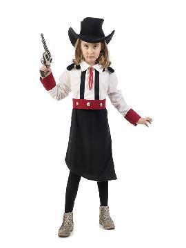 disfraz de vaquera cowboy niña