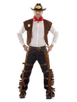 disfraz de vaquero con zahones hombre
