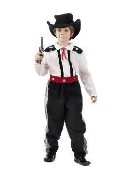 disfraz de vaquero deluxe niño