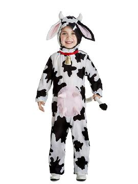 disfraz de vaca para niños