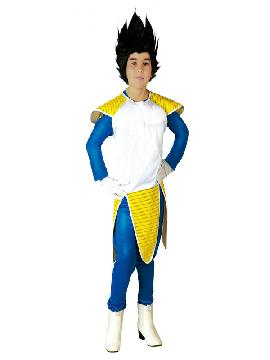 disfraz de vegeta niño infantil