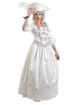 disfraz de veneciana deluxe mujer
