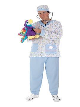 disfraz de veterinario para hombre