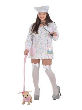 disfraz de veterinario para mujer
