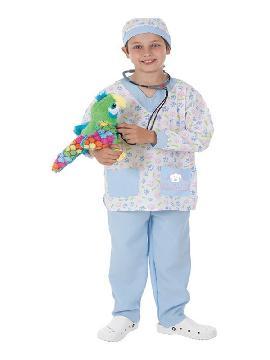 disfraz de veterinario para niño