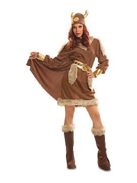 disfraz de vikinga guerrera para mujer