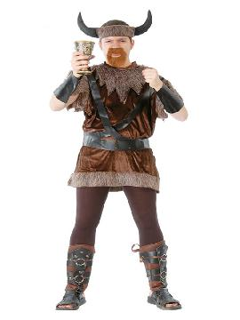 disfraz de vikingo bruto para hombre