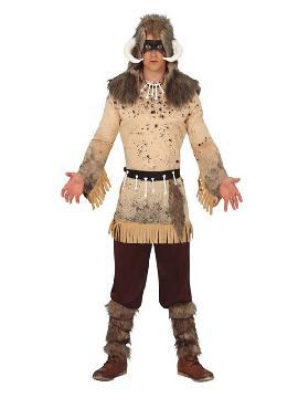 disfraz de vikingo chaman de hombre