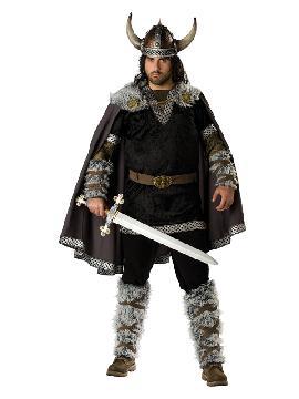 disfraz de vikingo hombre talla grande